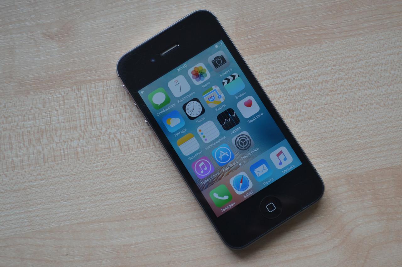 Apple Iphone 4s 8Gb Black Neverlock Оригинал!