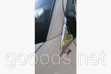 Треугольные хром накладки Volkswagen Crafter