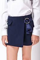 Шорты юбка школьные для девочки стильные , фото 1