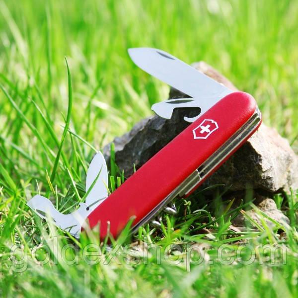 Нож Victorinox SPARTAN (Викторинокс Спартан) (91 мм) Оригинал, красный 1.3603