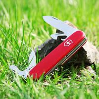 Нож Victorinox SPARTAN (Викторинокс Спартан) (91 мм) Оригинал, красный 1.3603, фото 1