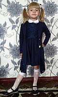 Школьный костюм 2-ка для девочки.Платье и кардиган.