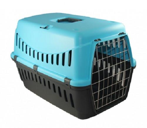 Переноска GIPSY 1 small 44x28,5x29,5 см - для собак и кошек с пластиковой дверцей (3 цвета)