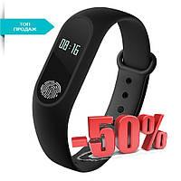 ➣Фитнес трекер UWatch М2 Black спортивные часы, sport watch. Международная версия Xiaomi Band М2