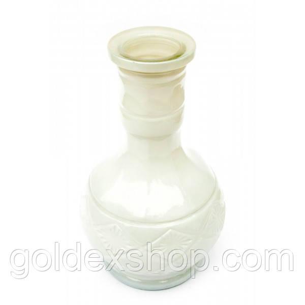 Колба для кальяна стекло (25х13х13 см) (внутренний d-4,5 см)