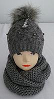 Комплект женский зимний м 7061, разные цвета