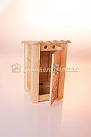 Копилка туалет деревянная