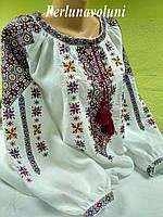 Блуза женская с вышивкой БЖ 27-16 вышиванка, вышитая блузка, вишита блузка, вишиванка