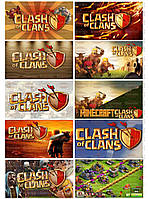 CLASH of CLANS 2 Вафельная картинка