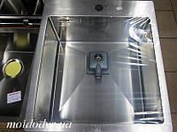 Мойка AquaSanita Aira AIR100X из нержавеющей стали  , фото 1