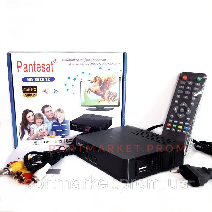Цифровая приставка Т2 Ресивер (Тюнер) Pantesat HD-3820 T2
