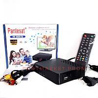 Цифровая приставка Т2 Ресивер (Тюнер) Pantesat HD-3820 T2, фото 1