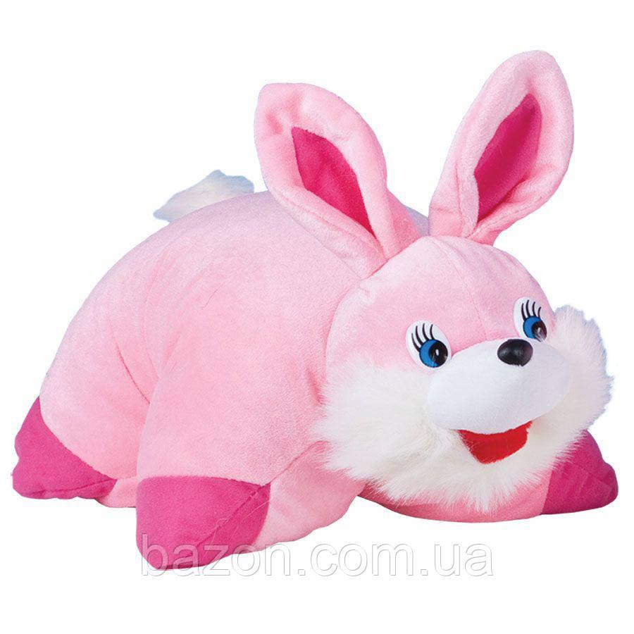 Мягкая игрушка Подушка трансформер заяц