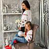Вишиванка для дівчинки в стилі бохо Розочка, фото 6