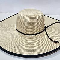 Шляпа женская летняя с большим полем