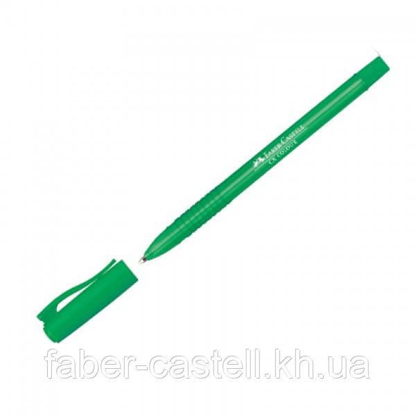 Шариковая ручка Faber-Castell CX Colour 1,0 мм  зеленый, 247063