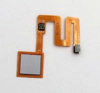Шлейф для Xiaomi Redmi Note 4, с сканером отпечатка пальца, серебристые цвета