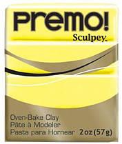 Пластика Premo, Желтая светлая, 57г, Sculpey, 50015525