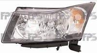 Фара левая H4 Chevrolet Cruze 09-15