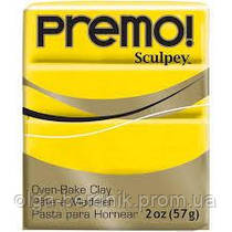 Пластика Premo, Кадмий жёлтый, 57г, Sculpey, 50015572
