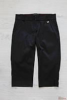 Капри черные из ткани с переливом (44 см)  No name 2125000471815