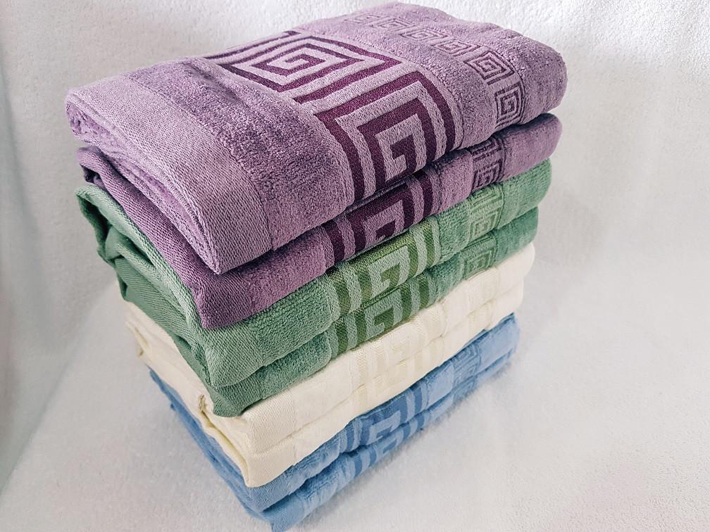 """Банное полотенце """"Версаче"""" Размер: 140 * 70"""