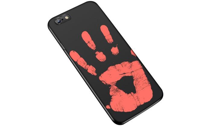 Чехол накладка силикон THERMOCASE iPhone 6/6s - Black/Red
