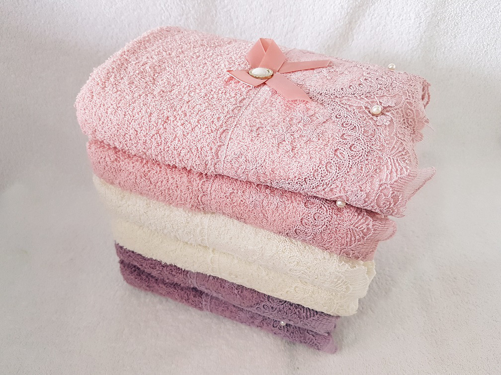 "Банное полотенце ""Круживо"" Размер: 140 * 70"