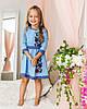 """Платья с вышивкой """"Мальвочка"""" от 4 до 13 лет, фото 6"""