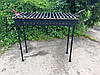 Мангал кованый садовый разборной на 18 шампуров сталь 4 мм