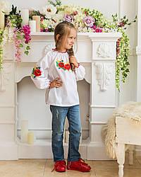 """Вышиванка для девочки """"Веснянка""""  от 7 до 13 лет"""