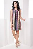 Стильное классическое прямое женское платье из ткани soft 7058/9, фото 1