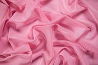 Сетка трикотажная розовая.