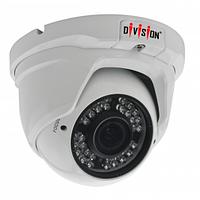 Видеокамера 2,43МП купольная вариофокальная уличн / внутр DE-225VFIR36HS AHD / HDCVI / HDTVI / Analog