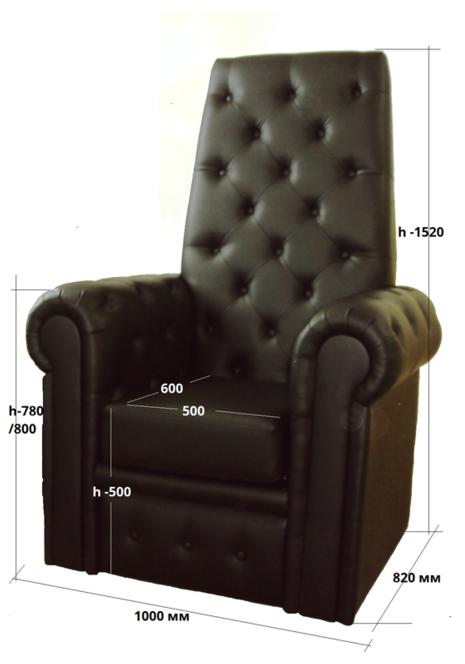 Педикюрное кресло Трон Королевы