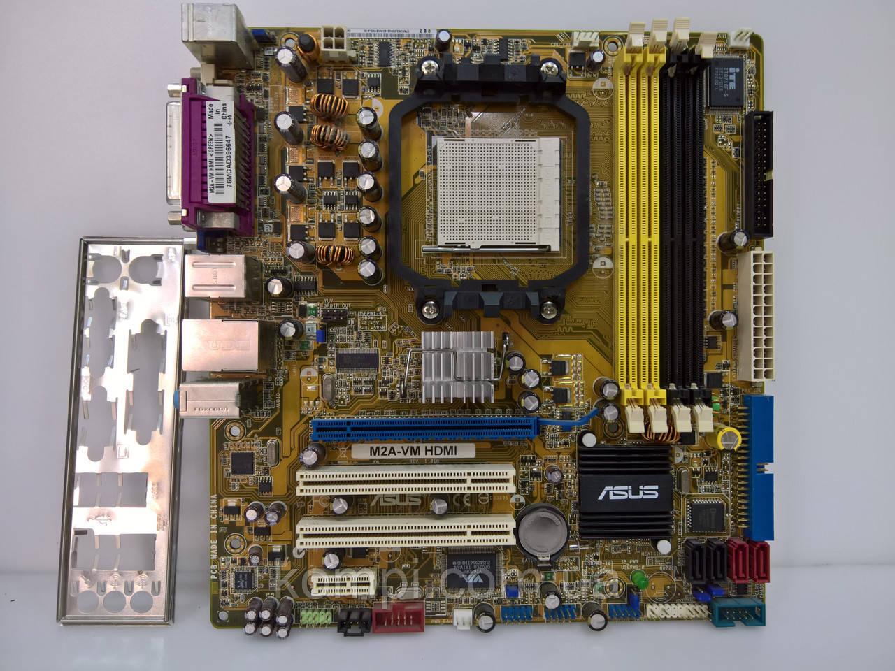 Материнська плата ASUS M2A-VM AM2+/AM3 DDR2