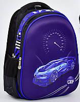 Школьный рюкзак 1, 2, 3 класс для мальчика. Портфель ранец ортопедический полу каркасный Машина Спорт