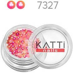 KATTi Жемчуг банка смола Pearls 7327 pink-peach 3мм 0,5g 70шт