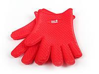 """Термостойкие силиконовые перчатки 2шт """"Hot hands"""", Качество"""