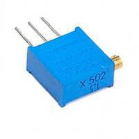 Подстроечный резистор 100 Ом, (шаг 5x2,5)