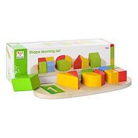 Деревянная игрушка геометрика