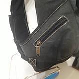Городской рюкзак на одно плечо Diesel gray, фото 6