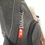 Городской рюкзак на одно плечо Diesel gray, фото 7