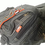Городской рюкзак на одно плечо Diesel gray, фото 9