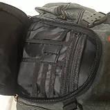 Городской рюкзак на одно плечо Diesel gray, фото 10
