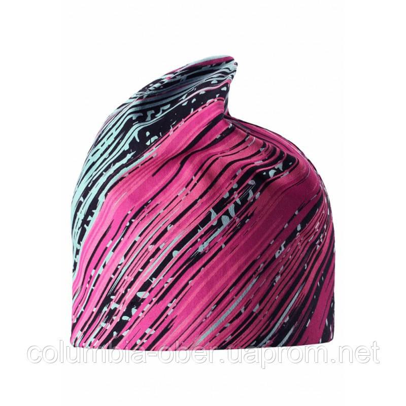 Демисезонная шапка для девочки Lassie by Reima 728712-3323. Размер S - L.