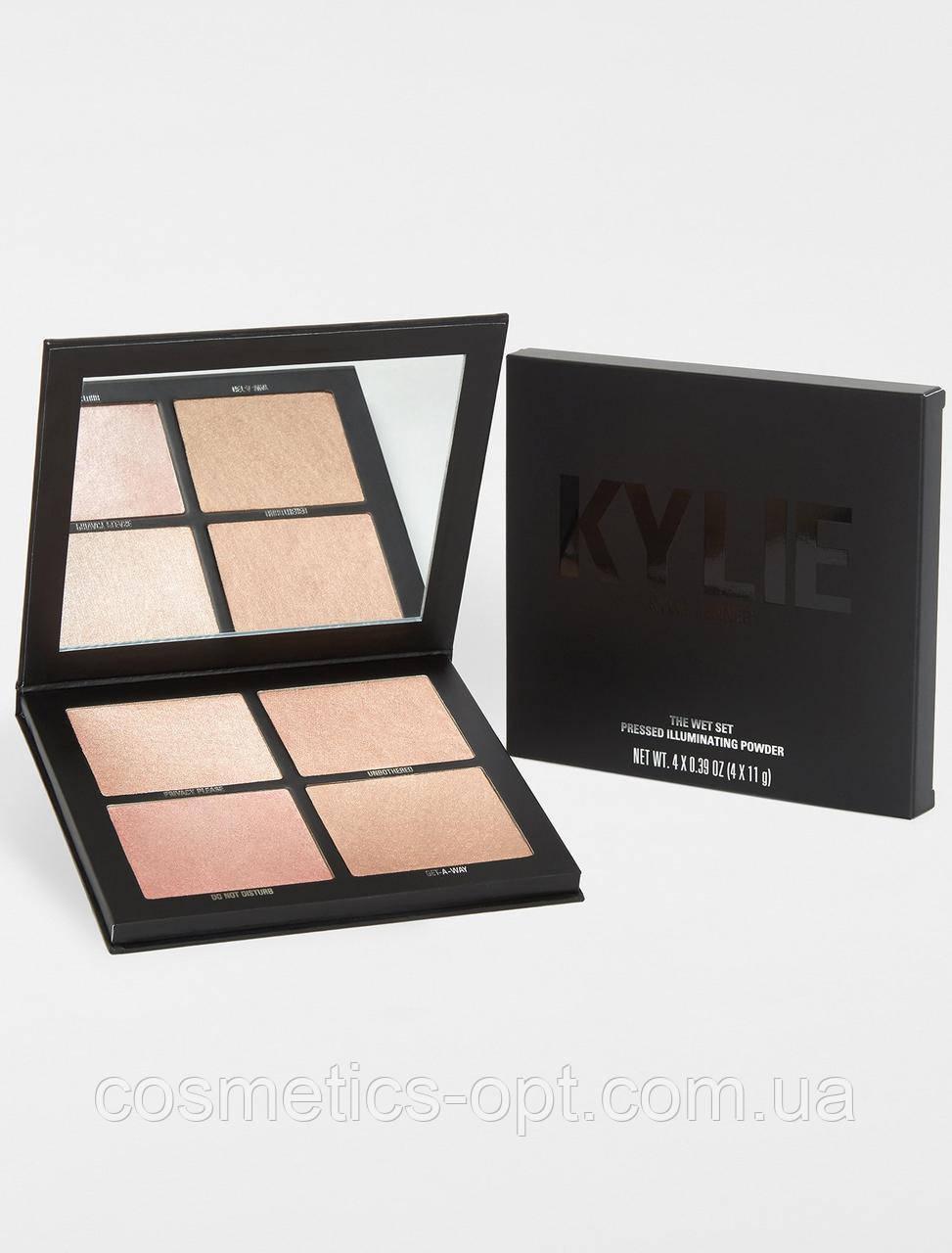 Хайлайтер Kylie The Wet Set черный (реплика)