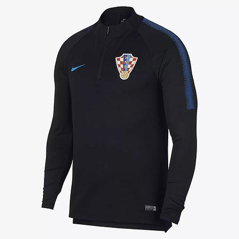 Тренировочная кофта Nike CRO M NK DRY SQD DRIL TOP 893333-010 (оригинал, сборная Хорватии)