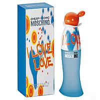 Moschino Cheap & Chic I Love Love (Москино Чип энд Шик Ай Лав Лав), женская туалетная вода, 100 ml