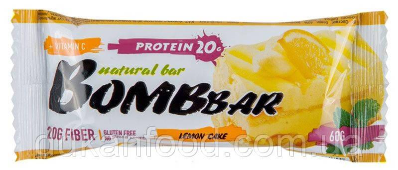BomBBar протеиновый батончик ЛИМОННЫЙ ТОРТ